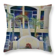 Marco Island Condo Throw Pillow