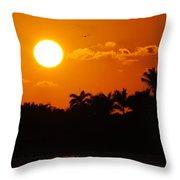 Marco Island Sunset Throw Pillow