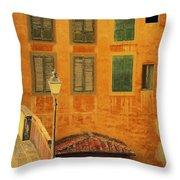 Medieval Windows Throw Pillow