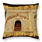 Medina Of Faz Throw Pillow