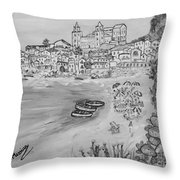 Memorie D'estate Throw Pillow