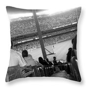 Memories Of The House That Ruth Built Throw Pillow