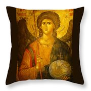 Michael The Archangel Throw Pillow