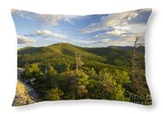 Middle Sugarloaf Mountain - Bethlehem Nh Usa Throw Pillow