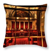 Minnesota Supreme Court Throw Pillow