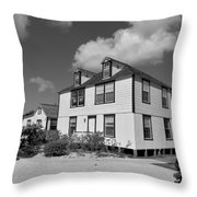 Mission House Throw Pillow