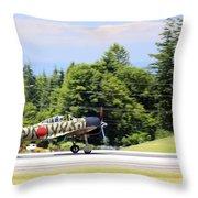 Mitsubishi A6m3-22 Reisen Zero Throw Pillow