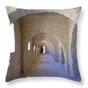 Monastir Ribat Throw Pillow