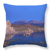 Mono Lake California Throw Pillow