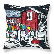 Motif #1 Throw Pillow