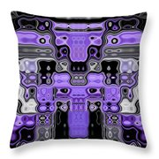 Motility Series 11 Throw Pillow