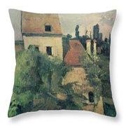 Moulin De La Couleuvre At Pontoise Throw Pillow