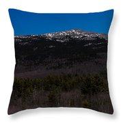 Mount Monadnock Throw Pillow