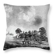 Mount Vernon, 1798 Throw Pillow