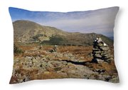 Mount Washington - White Mountains New Hampshire Throw Pillow
