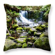 Mt Field National Park Throw Pillow