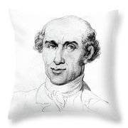 Mungo Park (1771-1806) Throw Pillow