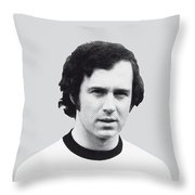 My Maradona Soccer Legend Poster Throw Pillow