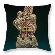 Mysore Treasure Throw Pillow