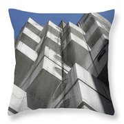 Nakagin Capsule Tower Throw Pillow