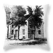 New York Senate, 1777 Throw Pillow