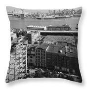 New York Water Street Throw Pillow