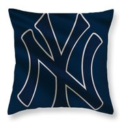 New York Yankees Uniform Throw Pillow