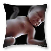 Newborn Throw Pillow