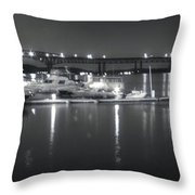 Newburgh Water Front Throw Pillow