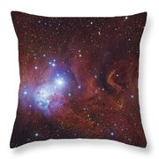 Ngc 2264, The Cone Nebula Region Throw Pillow