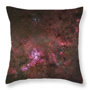 Ngc 3372, The Eta Carinae Nebula Throw Pillow by Robert Gendler