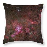 Ngc 3372, The Eta Carinae Nebula Throw Pillow