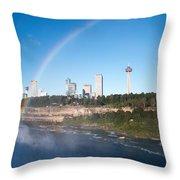 Niagara Falls Throw Pillow