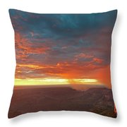 North Rim Grand Canyon National Park Arizona Throw Pillow