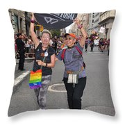 Nyc Gay Pride 2011 Throw Pillow