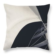 Obsession Sails 10 Throw Pillow