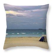 Ocean View 1 - Miami Beach - Florida Throw Pillow