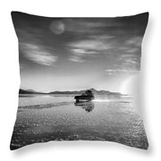 Off Road Uyuni Salt Flat Tour Select Focus Throw Pillow