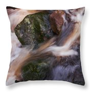 Old Mill Canal Throw Pillow