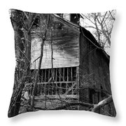 Old Mill Funk Bottoms Throw Pillow