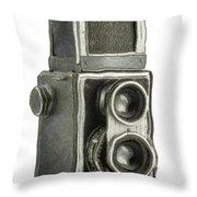 Old Still Camera Throw Pillow