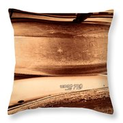 Old Town Canoes Throw Pillow