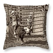 Ole Whitey Throw Pillow