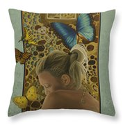 On A Wing And A Prayer Throw Pillow