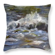One Beat Throw Pillow