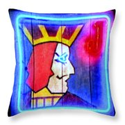 One Eyed Jacks Throw Pillow