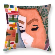 One Ringy Dingy Throw Pillow