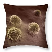 Osteoblast Cells Throw Pillow