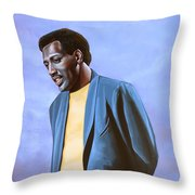 Otis Redding Painting Throw Pillow