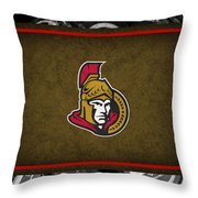 Ottawa Senators Throw Pillow